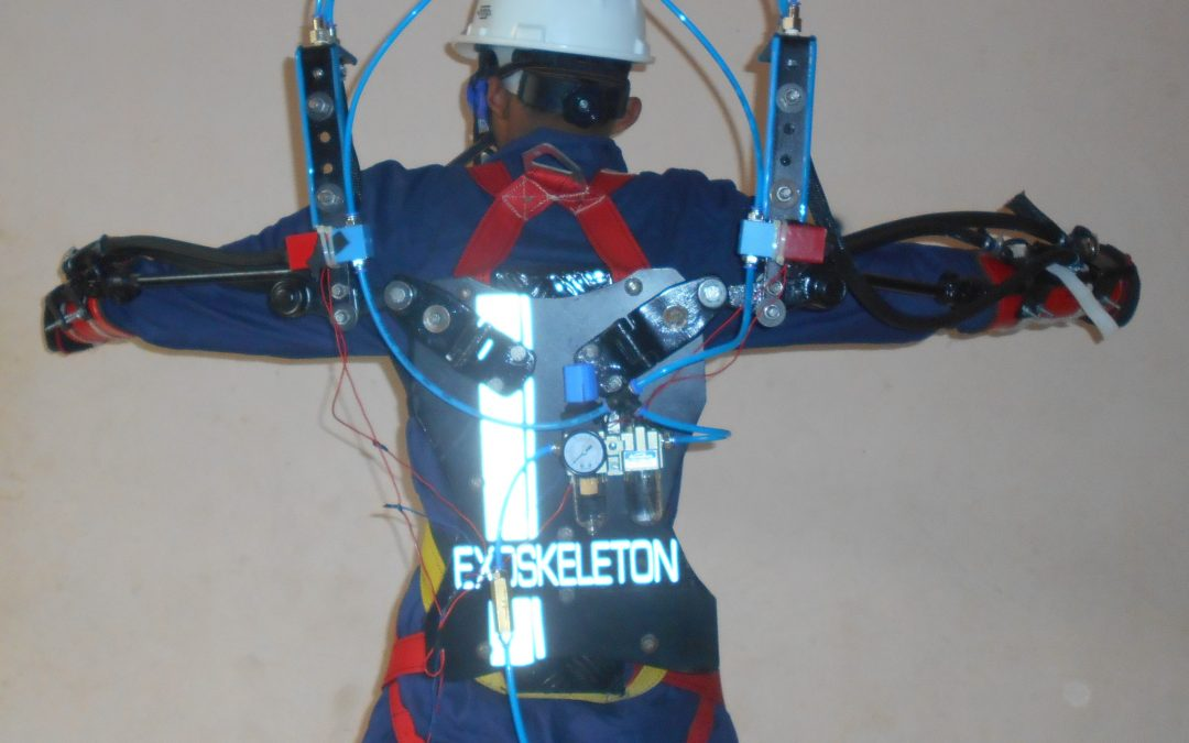 Upper Body Human Exoskeleton Suit