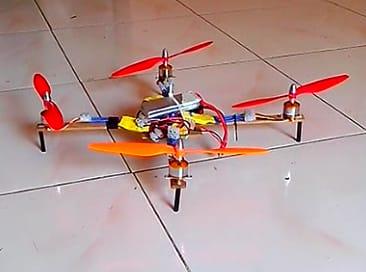 Development of a Quadcopter (First Flight)
