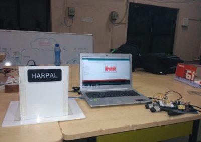 """HARPAL"" A Haptic Palpation Device"